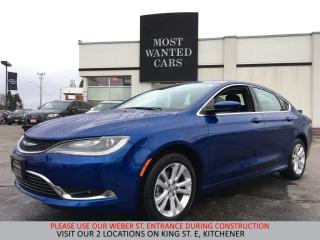 Used 2016 Chrysler 200 Limited | BLUETOOTH | HEATED SEATS for sale in Kitchener, ON