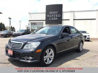 Used 2013 Mercedes-Benz C 300 4Matic BLUETOOTH   LEATHER   CLIMATE CONTROL for sale in Kitchener, ON