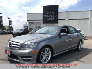 Used 2013 Mercedes-Benz C 300 4Matic NAVIGATION   SUNROOF   BLUETOOTH for sale in Kitchener, ON