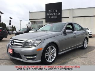 Used 2013 Mercedes-Benz C 300 4Matic SPORT PACKAGE   NO ACCIDENTS   ROOF for sale in Kitchener, ON