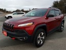 Used 2015 Jeep Cherokee Trailhawk - Heated Seats - Remote Start for sale in Norwood, ON