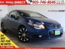 Used 2013 Honda Civic Si| NAVI| BACK UP CAMERA| SUNROOF| for sale in Burlington, ON