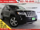 Used 2011 Jeep Grand Cherokee Overland| LEATHER| PANO ROOF| NAVI| for sale in Burlington, ON