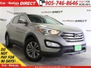 Used 2015 Hyundai Santa Fe Sport 2.4 Premium| AWD| BACK UP SENSORS| POWER SEAT| for sale in Burlington, ON