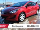 Used 2016 Hyundai Elantra Auto, heated seats, bluetooth!! for sale in Edmonton, AB