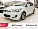 Used 2016 Hyundai Accent Automatic, air, inexpensive to drive! for sale in Edmonton, AB