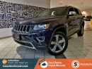 Used 2015 Jeep Grand Cherokee LIMITED, BLUETOOTH HANDS FREE WITH STREAMING AUDIO, SUNROOF, NAVIGATION, BACKUP CAMERA, FREE LIFETIME ENGINE WARRANTY! for sale in Richmond, BC