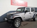 Used 2015 Jeep Wrangler Unlimited SAHARA, 4X4, UNLIMITED, NAVI, AUTO for sale in Edmonton, AB