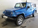 Used 2015 Jeep Wrangler Unlimited Sahara 4x4 GPS Navigation for sale in Edmonton, AB