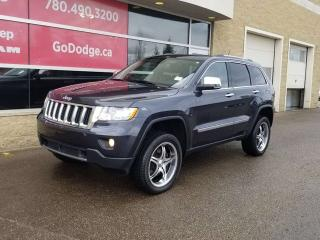 Used 2012 Jeep Grand Cherokee Overland / Panoramic Sunroof / GPS Navigation / Back Up Camera for sale in Edmonton, AB