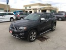 Used 2014 Jeep Grand Cherokee Overland - EcoDiesel  4x4  leather  GPS  Ventilate for sale in London, ON