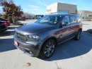 Used 2015 Dodge Durango Limited - AWD  Leather  GPS  Sunroof for sale in London, ON