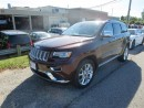 Used 2015 Jeep Grand Cherokee Summit - Hemi  4x4  Leather  GPS  Ventilated Seats for sale in London, ON