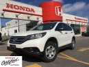 Used 2013 Honda CR-V LX, ORIGINAL ROADSPORT VEHICLE for sale in Scarborough, ON