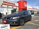 Used 2015 Honda Civic Sedan Touring, beautiful, loaded, clean carproof for sale in Scarborough, ON
