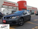Used 2013 Honda Civic EX, bluetooth, backup camera clean carproof for sale in Scarborough, ON