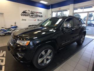 Used 2015 Jeep Grand Cherokee Overland for sale in Coquitlam, BC