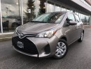 Used 2015 Toyota Yaris LE,local,one owner,low KM for sale in Surrey, BC