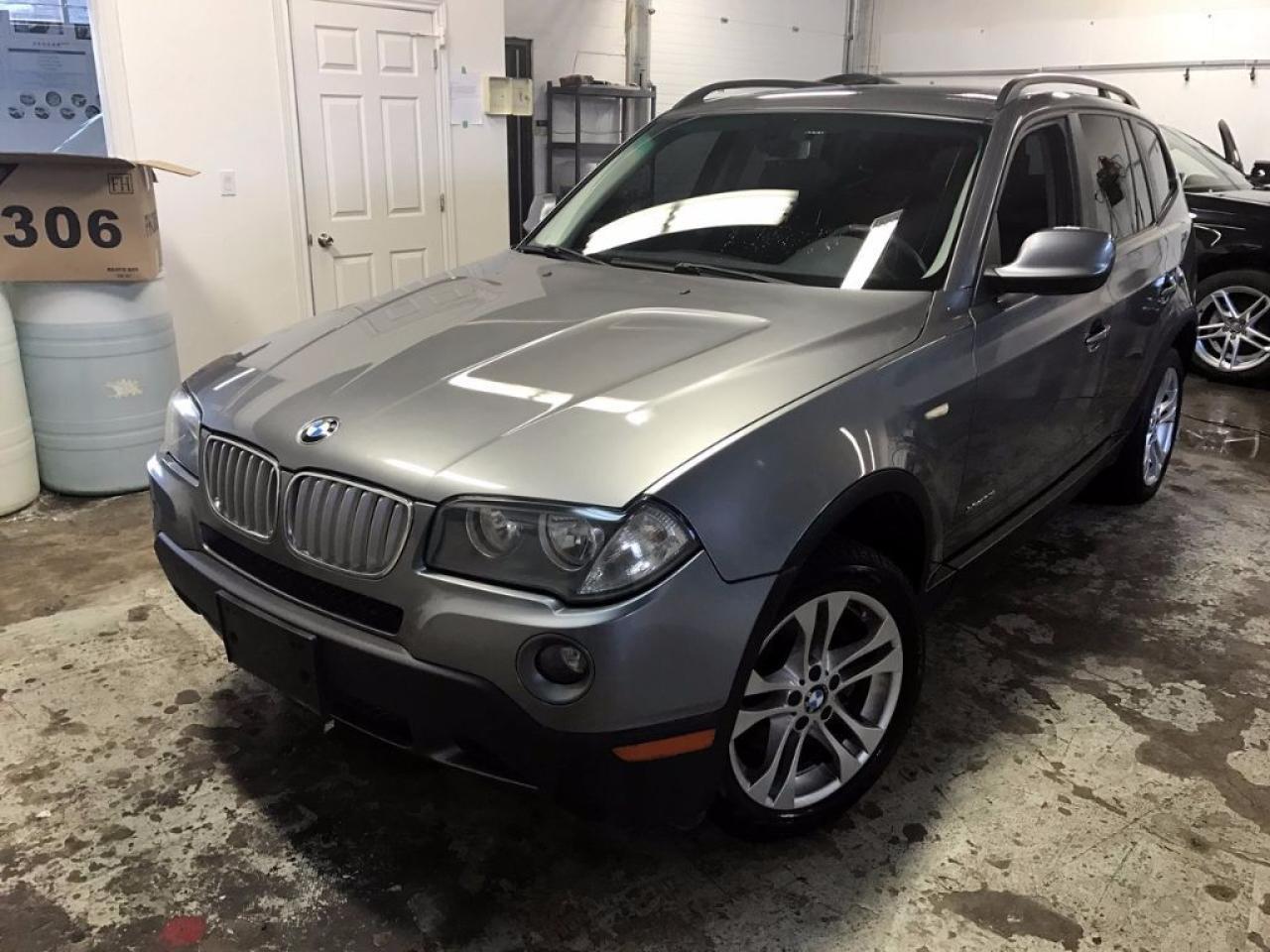 Photo of Gray 2010 BMW X3