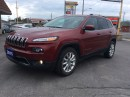 Used 2015 Jeep Cherokee Limited for sale in Cobourg, ON