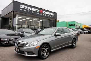 Used 2012 Mercedes-Benz E550 AMG|NAVI|BACKUP CAM|PANO ROOF|KEYLESS for sale in Markham, ON