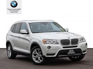 Used 2013 BMW X3 Xdrive28i Rear View Camera for sale in Markham, ON