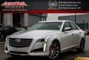 Used 2016 Cadillac CTS Sedan Luxury Collection AWD|Seating,DrvrAwarePkgs|Sunroof|Nav|17
