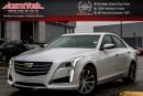 Used 2016 Cadillac CTS Sedan Luxury Collection AWD|Seating,DrvrAwarePkgs|Sunroof|Nav|17