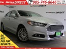 Used 2013 Ford Fusion SE| LEATHER| NAVI| BACK UP CAMERA| for sale in Burlington, ON