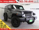 Used 2016 Jeep Wrangler Willys Wheeler| TOUCH SCREEN| 4X4| LOW KM'S| for sale in Burlington, ON