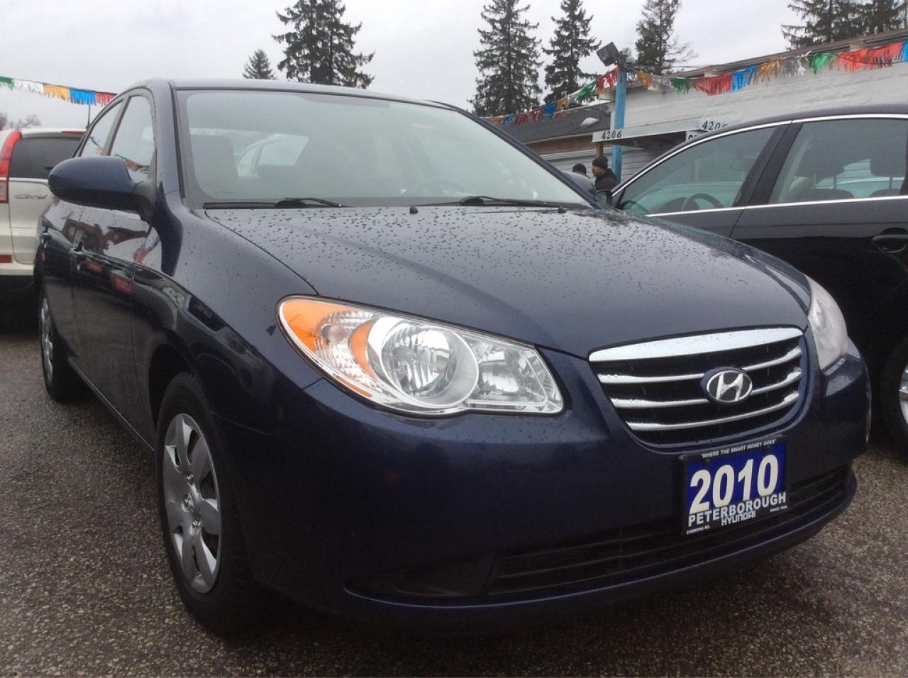 2010 Hyundai Elantra Low KM 120K $Gas Saver$ All Power Options w/AUX
