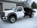 Used 2014 Ford F-550 XL 12' Flat Bed 4x4 for sale in Stratford, ON