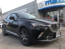Used 2017 Mazda CX-3 GT AWD - LEATHER SEATING & SUNROOF LEATHER NAVIGAT for sale in North York, ON