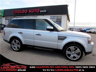 Used 2011 Land Rover Range Rover Sport Supercharged 4x4 Navigation Camera Certified for sale in Milton, ON