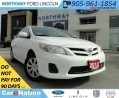 Used 2012 Toyota Corolla | EXPANSION SALE ON NOW | BLUETOOTH | 1.8L | for sale in Brantford, ON
