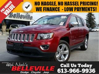 Used 2016 Jeep Compass High Altitude-Remote Start,Sunroof for sale in Belleville, ON