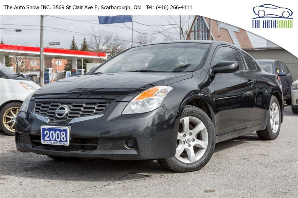 used 2008 nissan altima coupe sunroof super clean for. Black Bedroom Furniture Sets. Home Design Ideas