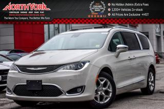 New 2017 Chrysler Pacifica New Car Limited|Adv.SafetyTec,Uconnect Theater Pkgs|Nav|KeySense|Pano_Sunroof for sale in Thornhill, ON