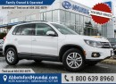 Used 2014 Volkswagen Tiguan Trendline LOW KILOMETRES & AWD CAPABILITY for sale in Abbotsford, BC