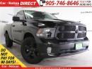 Used 2016 Dodge Ram 1500 Black Express| HEMI| TOUCH SCREEN| for sale in Burlington, ON