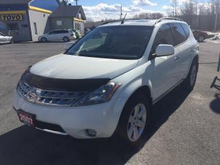 Used 2007 Nissan Murano SL for sale in Cornwall, ON