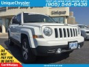 Used 2016 Jeep Patriot High Altitude| LEATHER| SUNROOF| TOUCH SCREEN| 4X4 for sale in Burlington, ON
