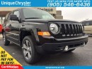 Used 2017 Jeep Patriot High Altitude | 4x4 |LEATHER| NAV | HEATED SEATS| for sale in Burlington, ON