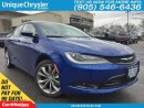 Used 2016 Chrysler 200 S| LEATHER| BACK UP CAMERA| TOUCH SCREEN| for sale in Burlington, ON