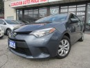 Used 2014 Toyota Corolla LE ECO-CAMERA-HEATED-BLUETOOTH for sale in Scarborough, ON