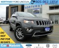 Used 2015 Jeep Grand Cherokee LTD | HEATED LEATHER | 4X4 | REAR CAM | for sale in Brantford, ON