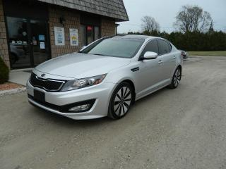 Used 2011 Kia Optima Turbo SX for sale in Ridgetown, ON