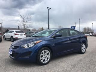 Used 2016 Hyundai Elantra GL AUTO for sale in Collingwood, ON