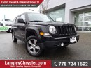 Used 2015 Jeep Patriot Sport/North ACCIDENT FREE w/ 4X4, LEATHER & SUNROOF for sale in Surrey, BC