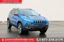 New 2017 Jeep Cherokee Trailhawk 4x4, HEATED SEATS, HANDS-FREE, BACK UP CAMERA, TRAILER TOW GROUP, SUNROOF for sale in Courtenay, BC